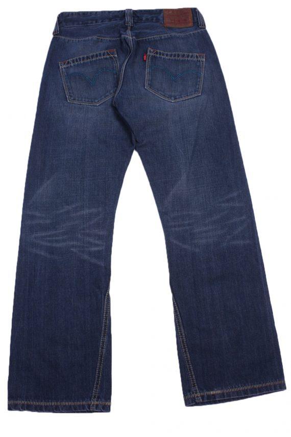 """Levi's Vintage Blue Jeans with Buttons&Zip Women Size - W:30"""" L:29"""" - J2436-27265"""