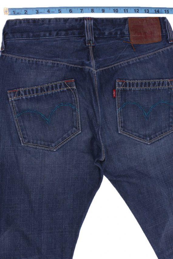 """Levi's Vintage Blue Jeans with Buttons&Zip Women Size - W:30"""" L:29"""" - J2436-27266"""