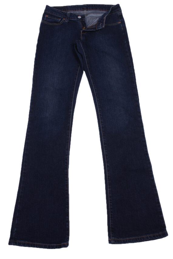 """Levi's 545 Vintage Blue Jeans with Buttons&Zip Women Size - W:29"""" L:34"""" - J2443-0"""