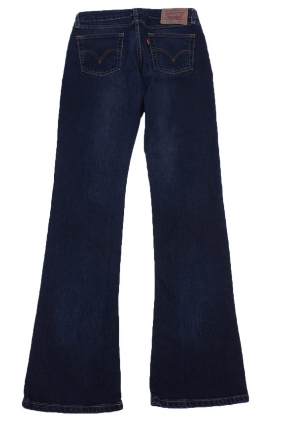 """Levi's 545 Vintage Blue Jeans with Buttons&Zip Women Size - W:29"""" L:34"""" - J2443-27286"""