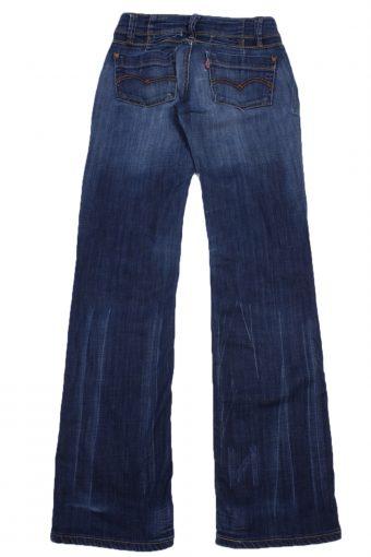 """Levi's Vintage Blue Jeans with Buttons&Zip Women Size - W:27"""" L:31"""" - J2445-27292"""