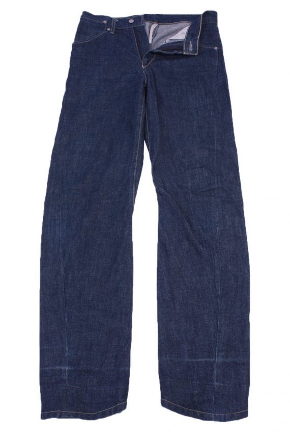 """Levi's Vintage Blue Jeans with Buttons&Zip Women Size - W:28"""" L:32"""" - J2455-0"""