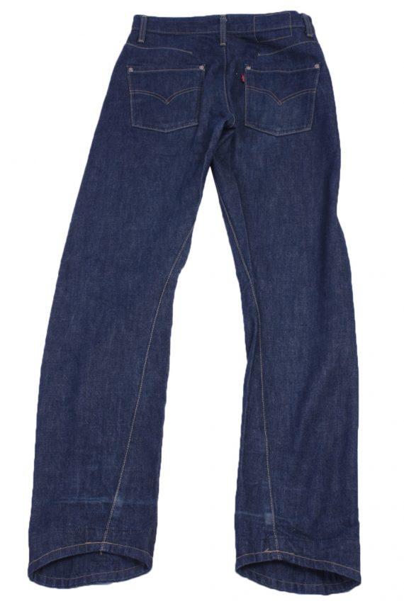 """Levi's Vintage Blue Jeans with Buttons&Zip Women Size - W:28"""" L:32"""" - J2455-27329"""