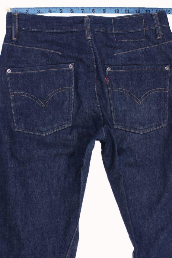 """Levi's Vintage Blue Jeans with Buttons&Zip Women Size - W:28"""" L:32"""" - J2455-27327"""