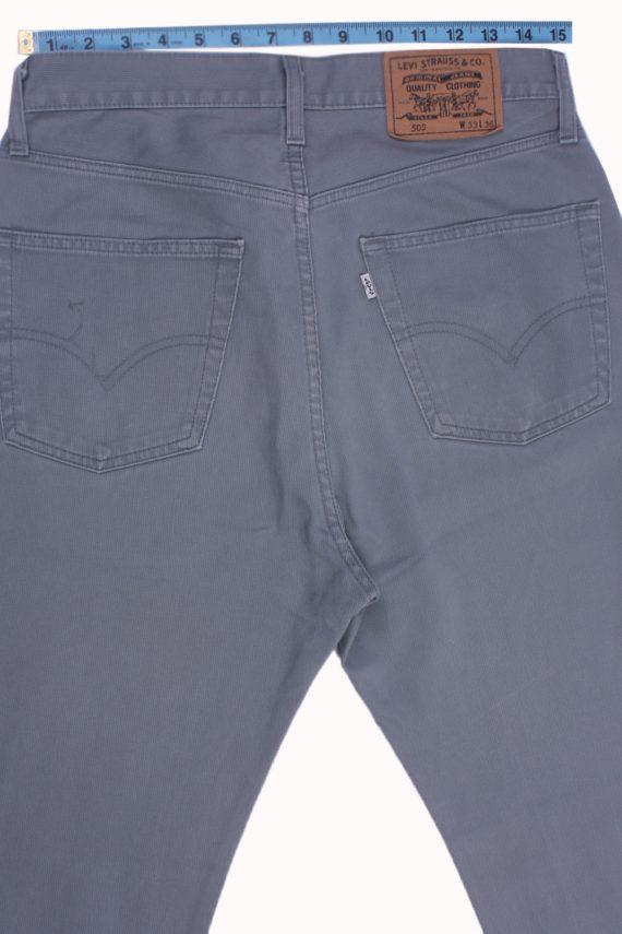 "Levi's 505 Vintage Gray Jeans with Buttons&Zip Women Size - W:32"" L:32"" - J2459-27339"