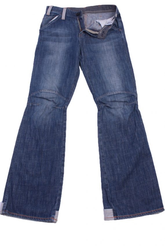 "G-Star Vintage Blue Jeans with Buttons&Zip Unisex Size - W:31"" L:32.5"" - J2308-0"
