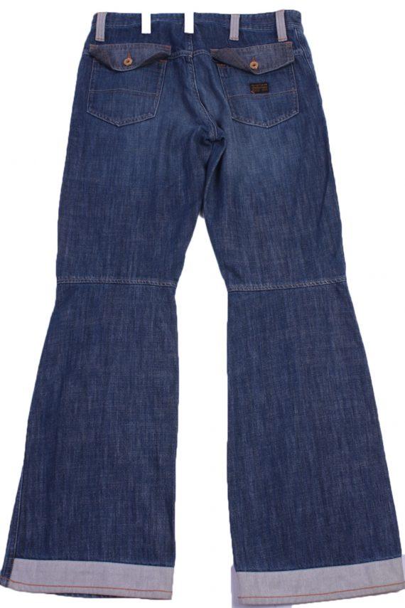 "G-Star Vintage Blue Jeans with Buttons&Zip Unisex Size - W:31"" L:32.5"" - J2308-26880"