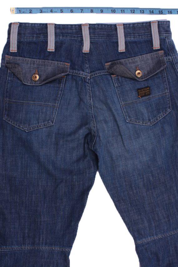 "G-Star Vintage Blue Jeans with Buttons&Zip Unisex Size - W:31"" L:32.5"" - J2308-26881"