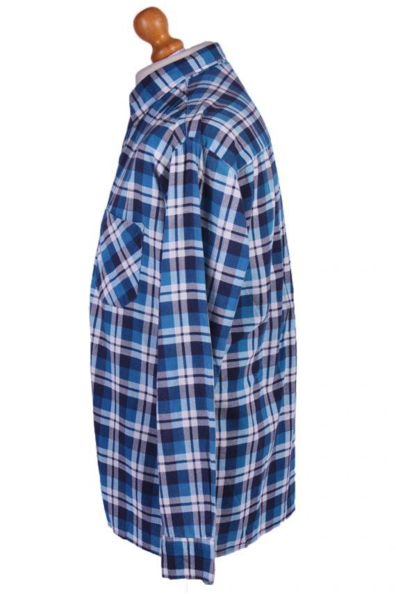 "Vintage Flannel 90s Men Long Sleeve Shirt Lumberjack Chest Size 49"" - SH2292-29211"