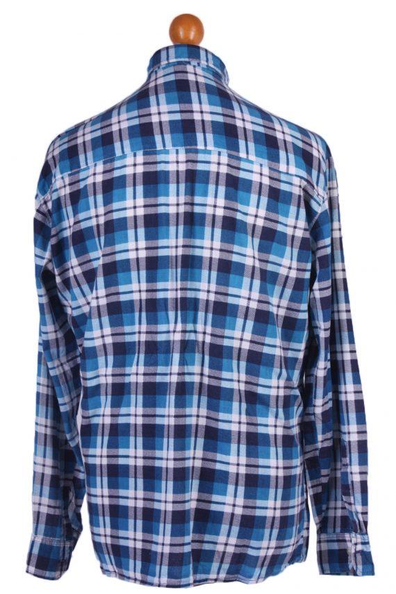 "Vintage Flannel 90s Men Long Sleeve Shirt Lumberjack Chest Size 49"" - SH2292-29212"