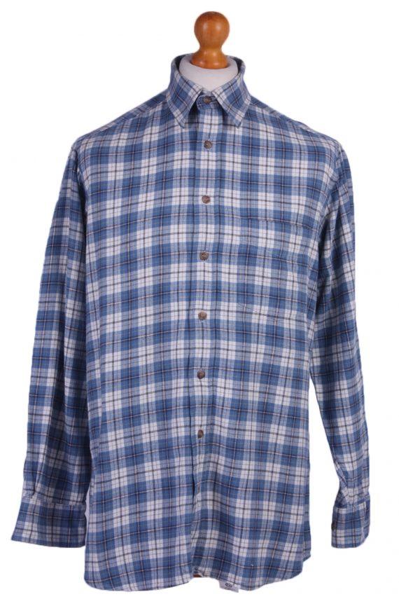 "Vintage Flannel 90s Men Shirt Lumberjack Check Retro Chest Size 44"" -SH2295-0"