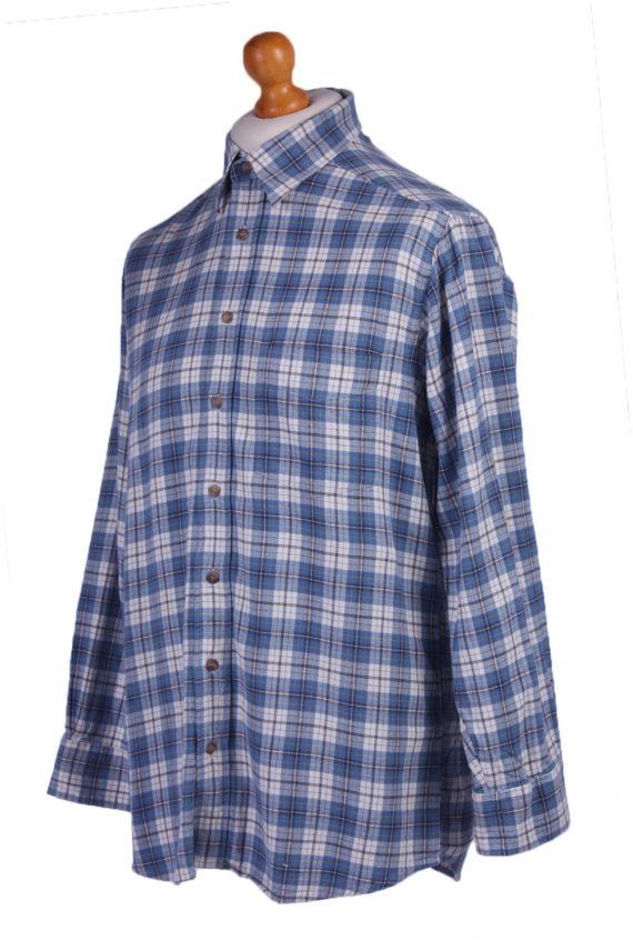 "Vintage Flannel 90s Men Shirt Lumberjack Check Retro Chest Size 44"" -SH2295-29222"