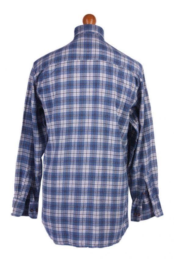 "Vintage Flannel 90s Men Shirt Lumberjack Check Retro Chest Size 44"" -SH2295-29223"