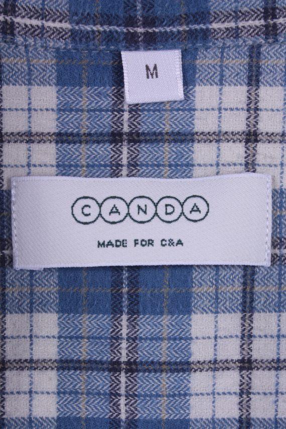"Vintage Flannel 90s Men Shirt Lumberjack Check Retro Chest Size 44"" -SH2295-29224"
