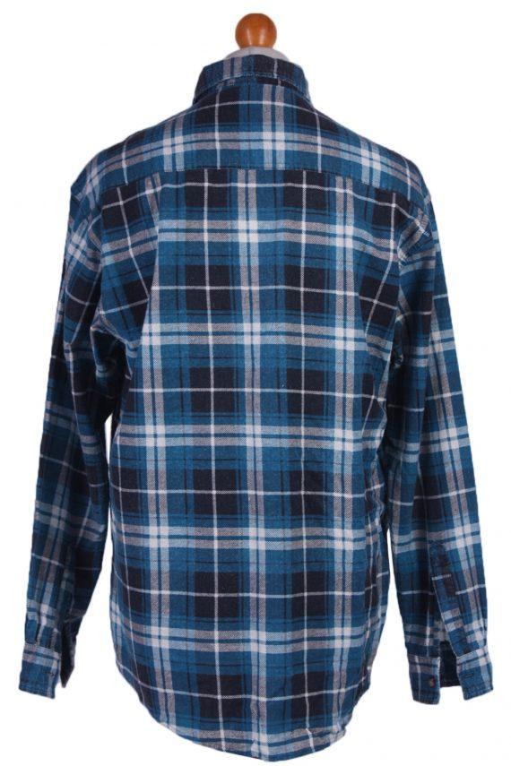 "Vintage Flannel 90s Men Cosy Shirt Lumberjack Check Size 48"" - SH2297-29231"