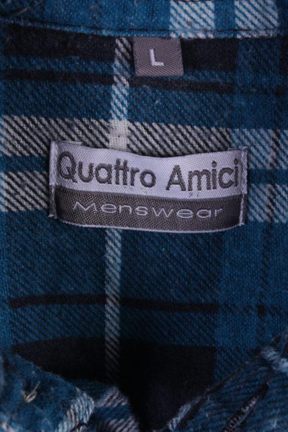 "Vintage Flannel 90s Men Cosy Shirt Lumberjack Check Size 48"" - SH2297-29232"