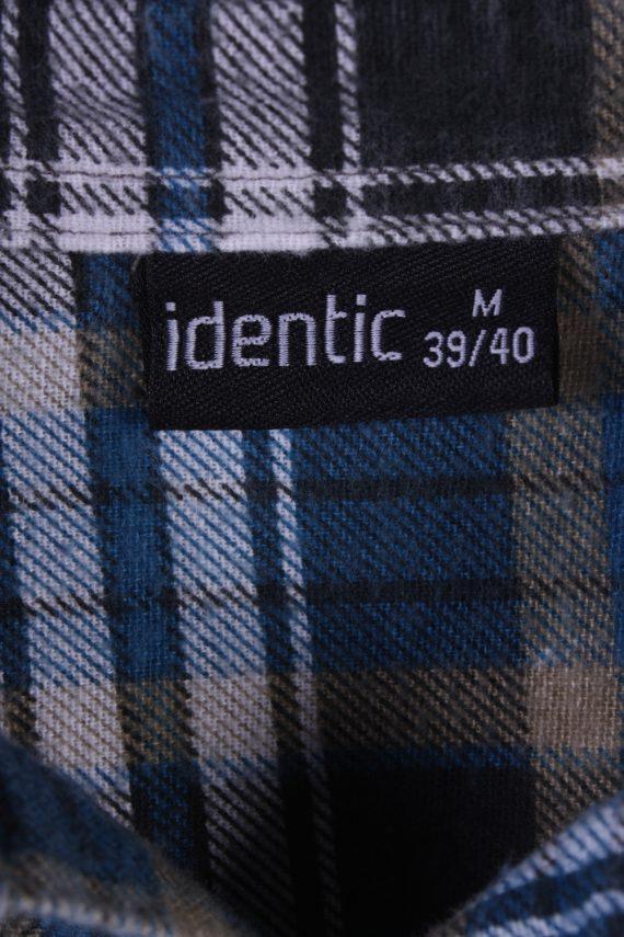 "Vintage Flannel 90s Men Cosy Shirt Lumberjack Check Retro Size 45"" - SH2298-29236"