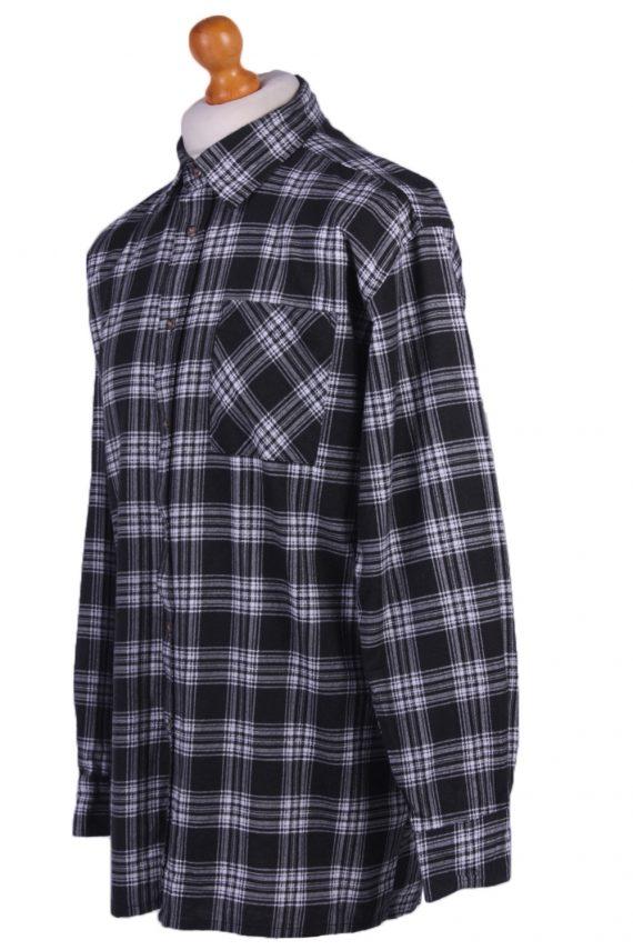 "Mens Vintage Flannel Shirty Lumberjack Check Pattern Multicolour Size 50""-SH2310-29282"