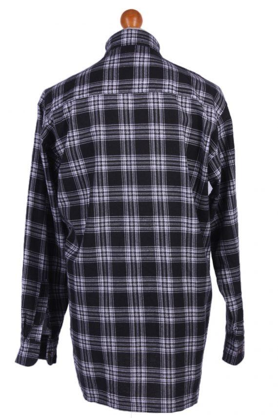"Mens Vintage Flannel Shirty Lumberjack Check Pattern Multicolour Size 50""-SH2310-29283"