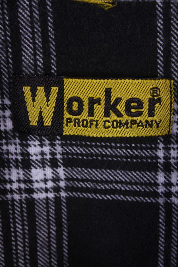"Mens Vintage Flannel Shirty Lumberjack Check Pattern Multicolour Size 50""-SH2310-29284"