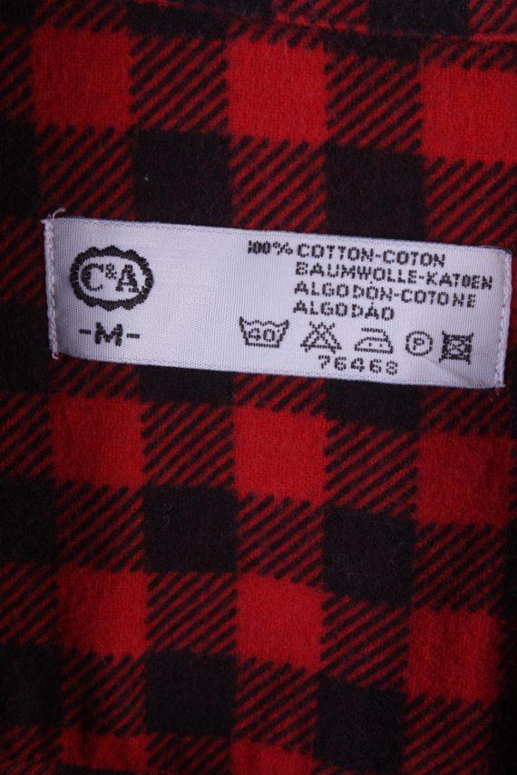 "Vintage Flannel Men Shirt Lumberjack Cosy Multicolour Check Pattern 45""-SH2317-29311"