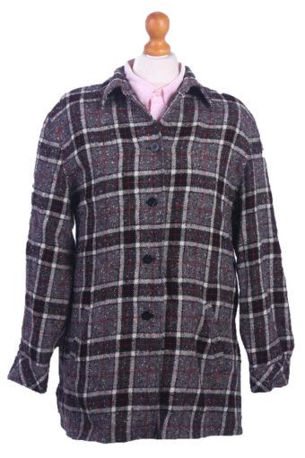 Women Blazer Jacket Grey L