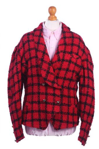 Women Blazer Jacket Red M