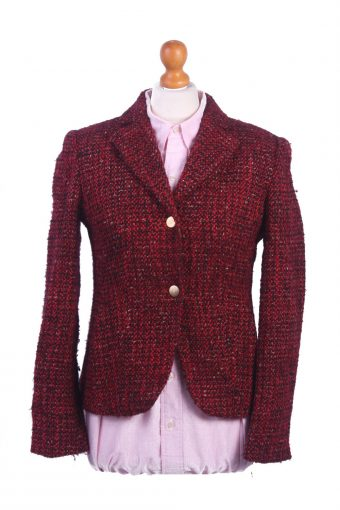 Women Blazer Jacket Red S