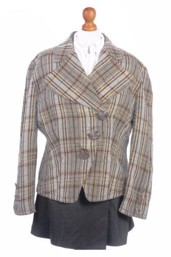 Women Blazer Jacket Green XL