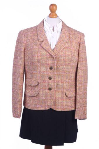 Women Blazer Jacket Orange M