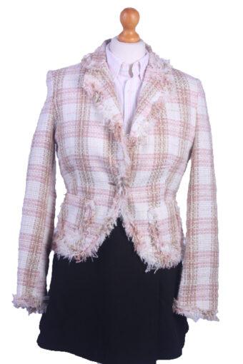 Women Blazer Jacket Cream S