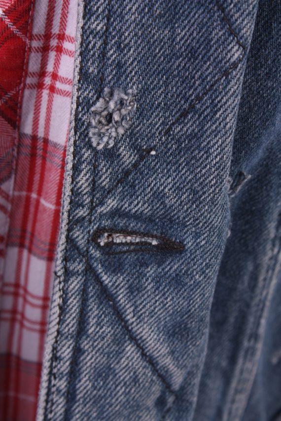 Vintage Denim Lee Trucker Jacket Blue Size L -DJ1075-30709