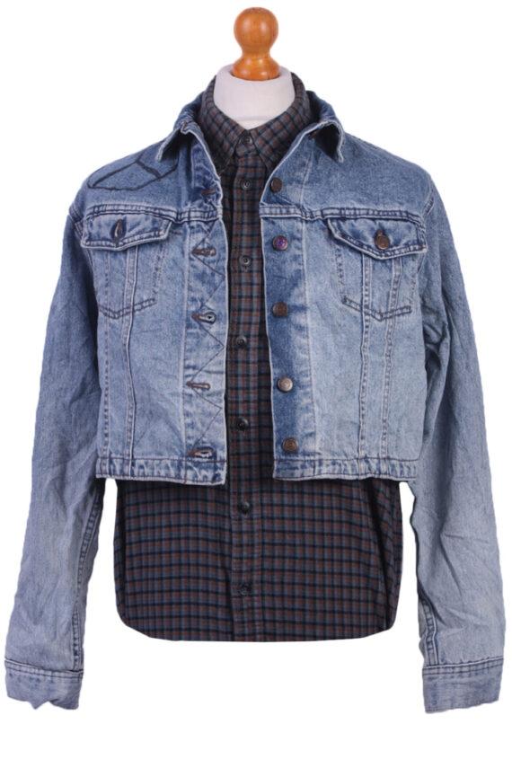 Lee Vintage Denim Jacket Western Blue Size M/L -DJ1099-0