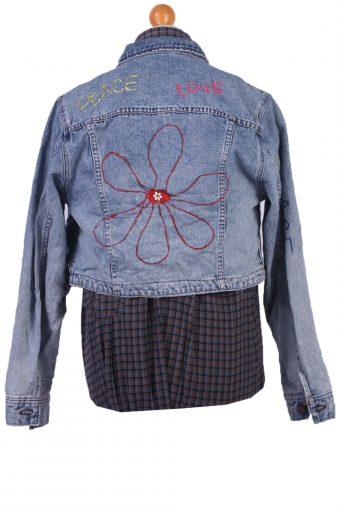 Lee Vintage Denim Jacket Western Blue Size M/L -DJ1099-31058