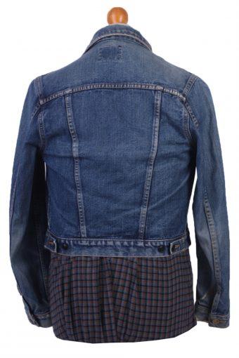 Lee Denim Jacket Vintage Western Blue Size S -DJ1100-31059
