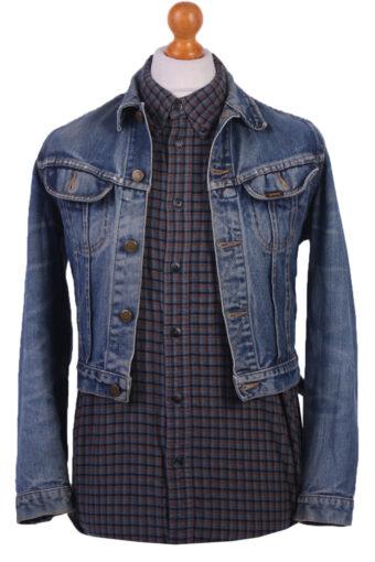 Lee Denim Jacket Western Blue M