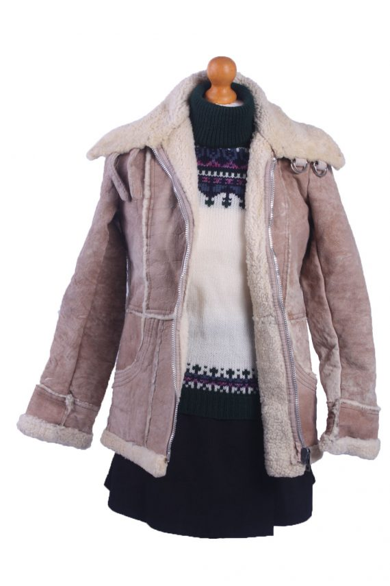 Vintage Ladies Lambskin Coat -C78-31806