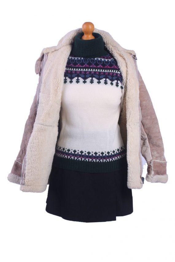 Vintage Ladies Lambskin Coat -C78-31807