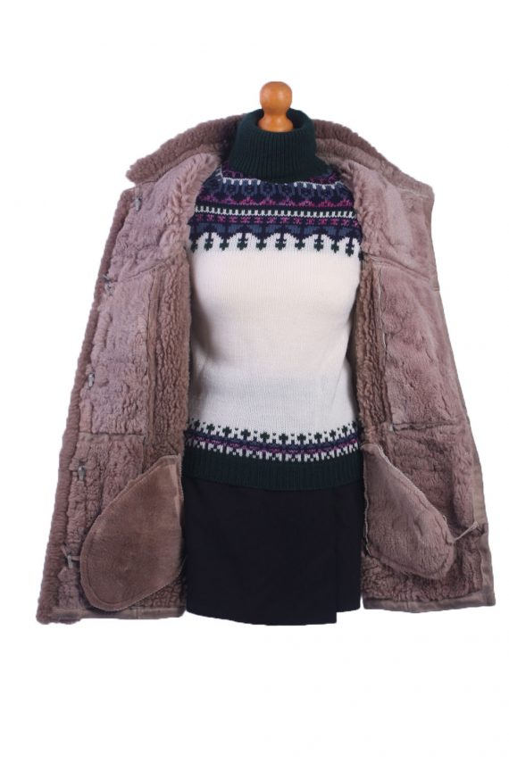 Vintage Ladies Lambskin Coat -C81-31825