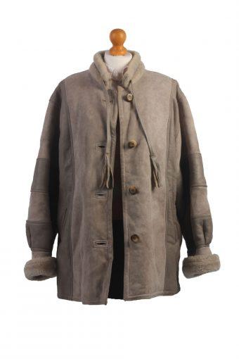 90s Women Sheepskin Coat/Jacket -C348-34461