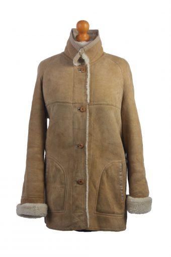 Ladies Designer Genuine Sheepskin Coat/Jacket -C349-34466