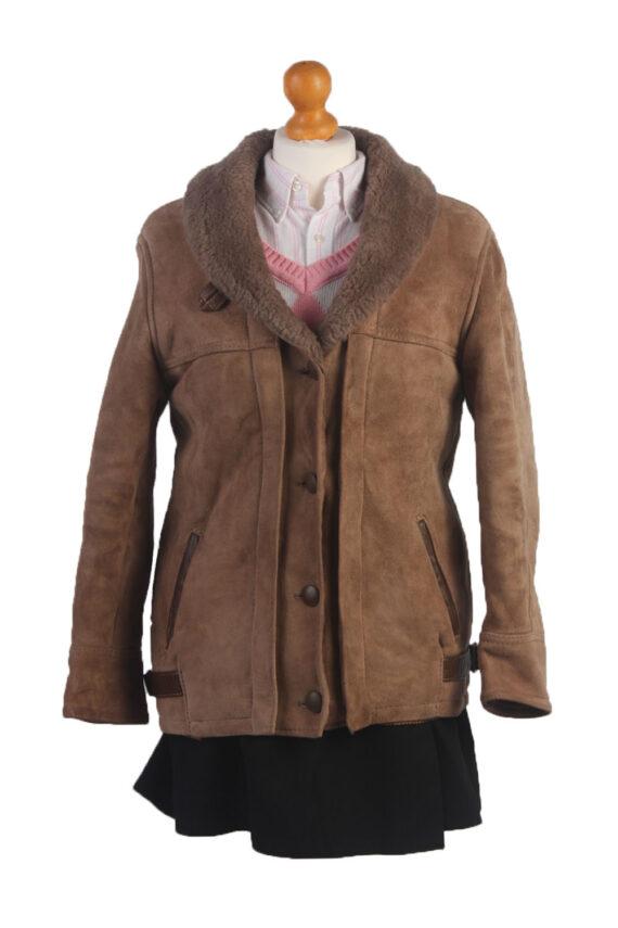 90s Women Sheepskin Coat/Jacket -C359-0