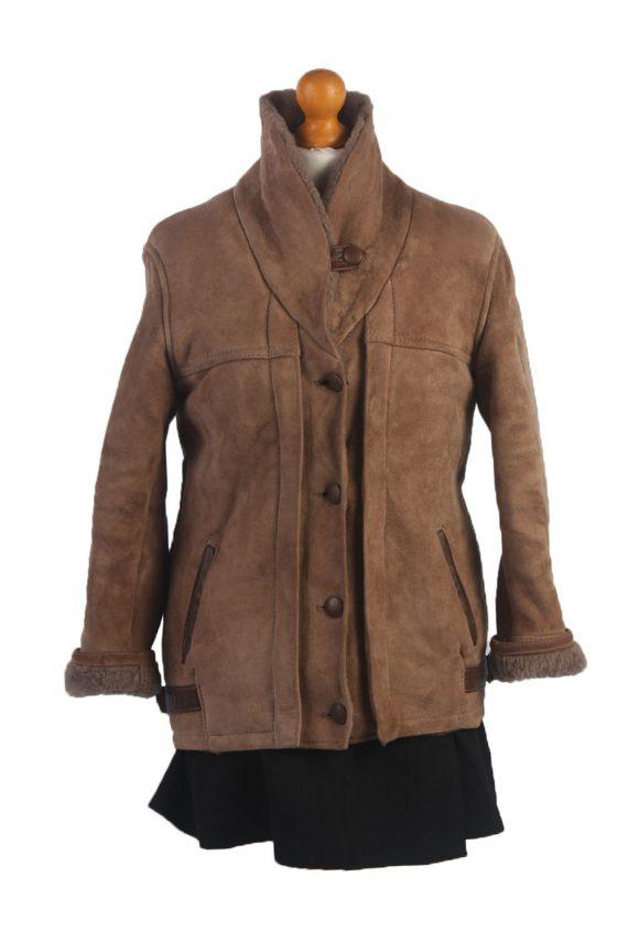 90s Women Sheepskin Coat/Jacket -C359-34515