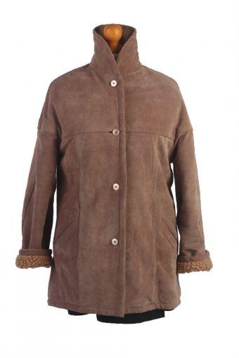 90s Women Sheepskin Coat/Jacket -C360-34519