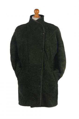 90s Women Sheepskin Coat/Jacket -C390-34727