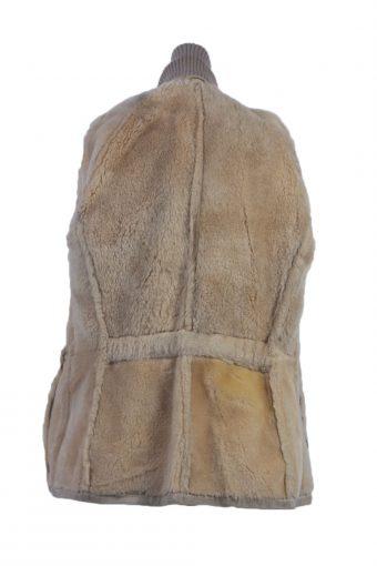 Vintage Women's Leather Coat Jacket -C333-147278