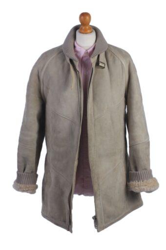 Vintage Women's Leather Coat Jacket