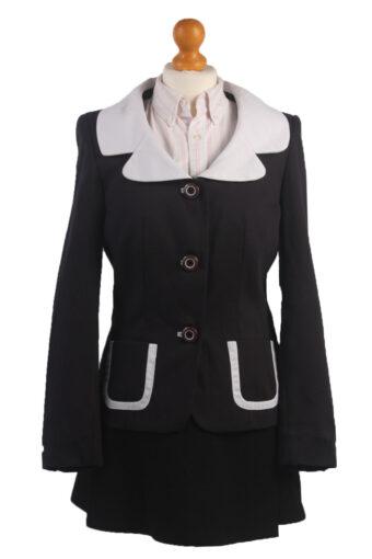 Women Blazer Jacket Navy Blue S