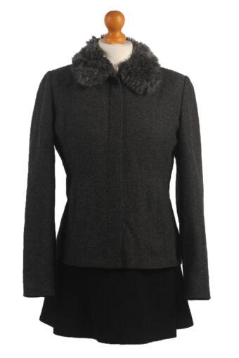 Women Blazer Jacket Grey M