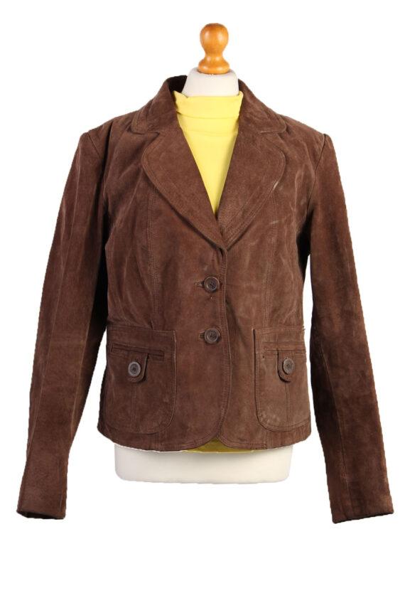 70s/90s Women Designer Genuine Coat/Jacket -C461-0